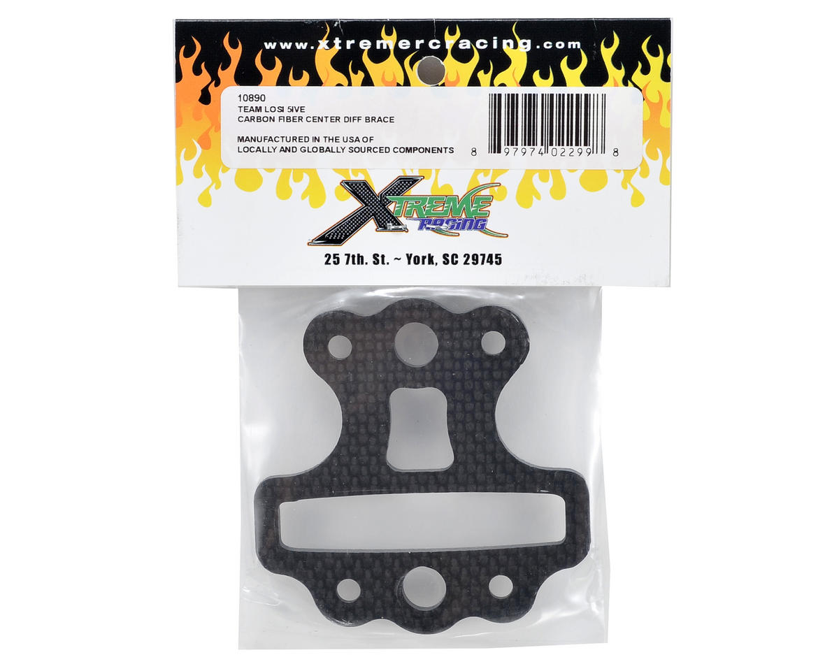 Xtreme Racing Carbon Fiber Center Differential Brace