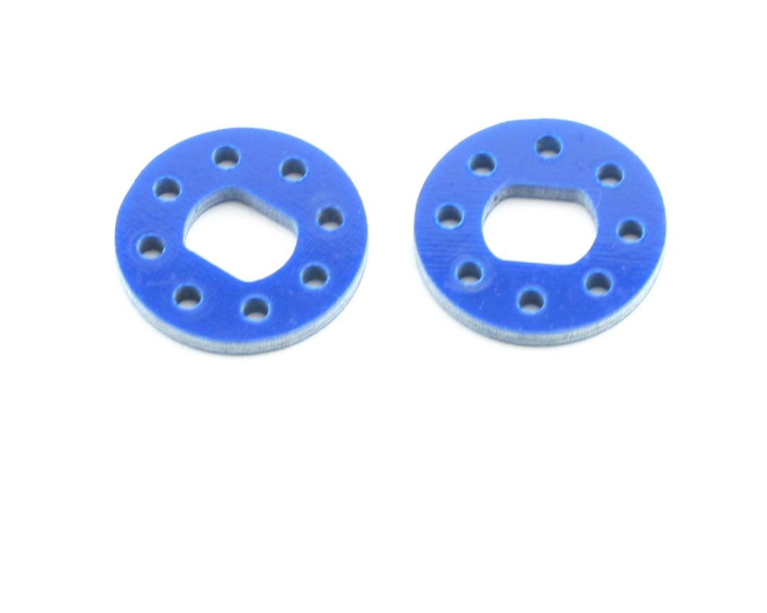 Xtreme Racing Team Associated RC8 Carbon Fiber Brake Disk (2) (Blue)