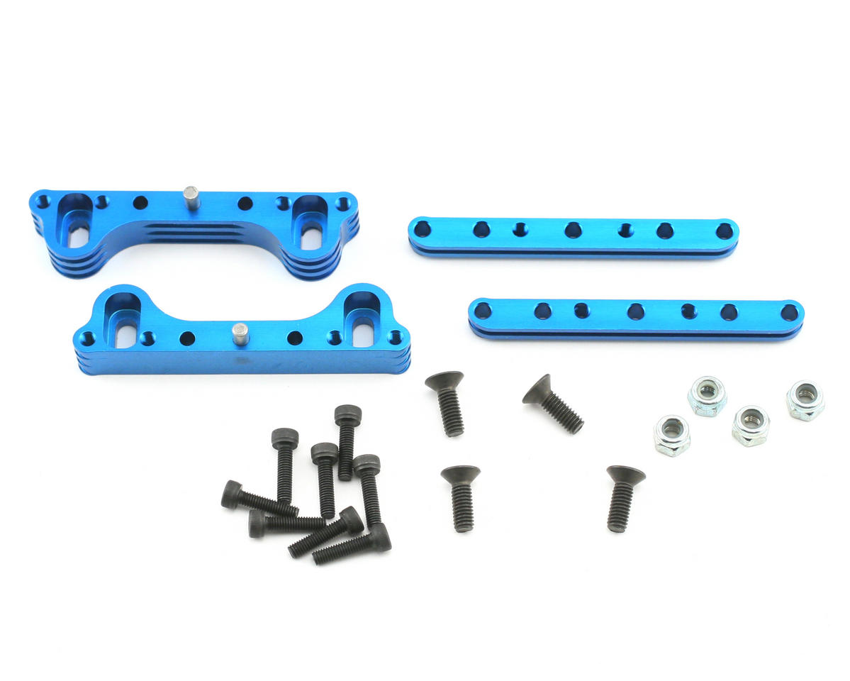 Xtreme Racing Team Associated RC8 Aluminum Quick Change Motor Mount (Blue)