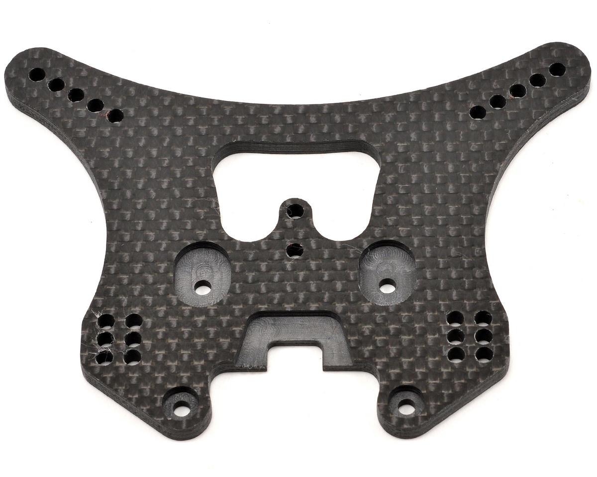 Xtreme Racing 4mm Carbon Fiber Rear Shock Tower (Black)