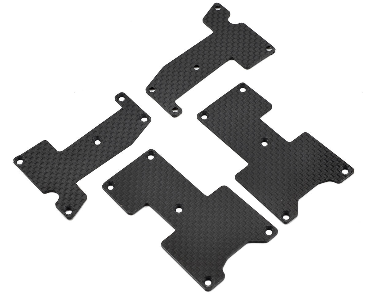 Hot Bodies D815/D812 1.6mm Carbon Fiber Arm Inserts by Xtreme Racing