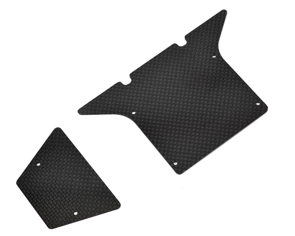 Vaterra Twin Hammer Carbon Fiber Hood Panel (2) by Xtreme Racing