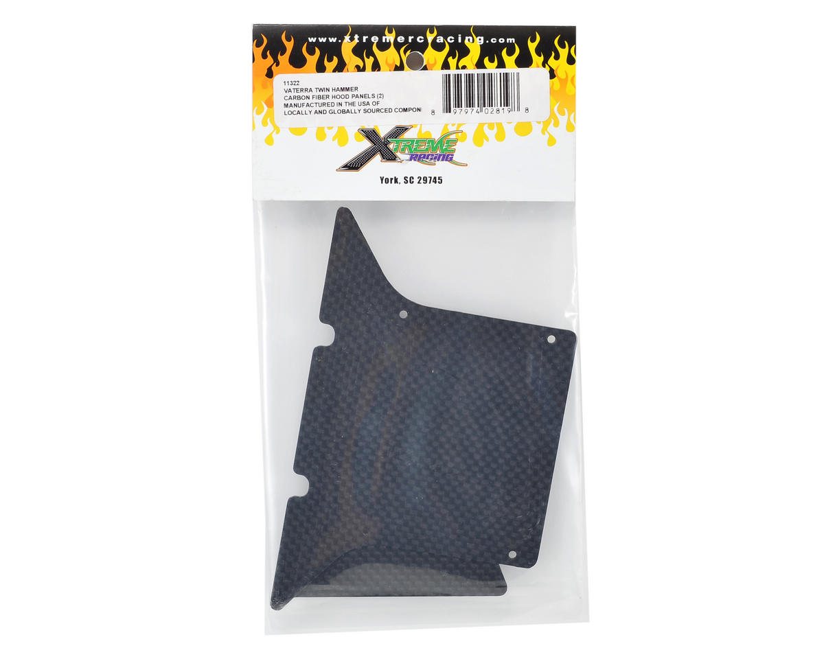 Xtreme Racing Vaterra Twin Hammer Carbon Fiber Hood Panel (2)