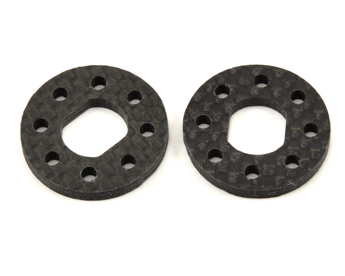 "Xtreme Racing JQ ""THE Car"" 3mm Carbon Fiber Brake Disk Set (2)"