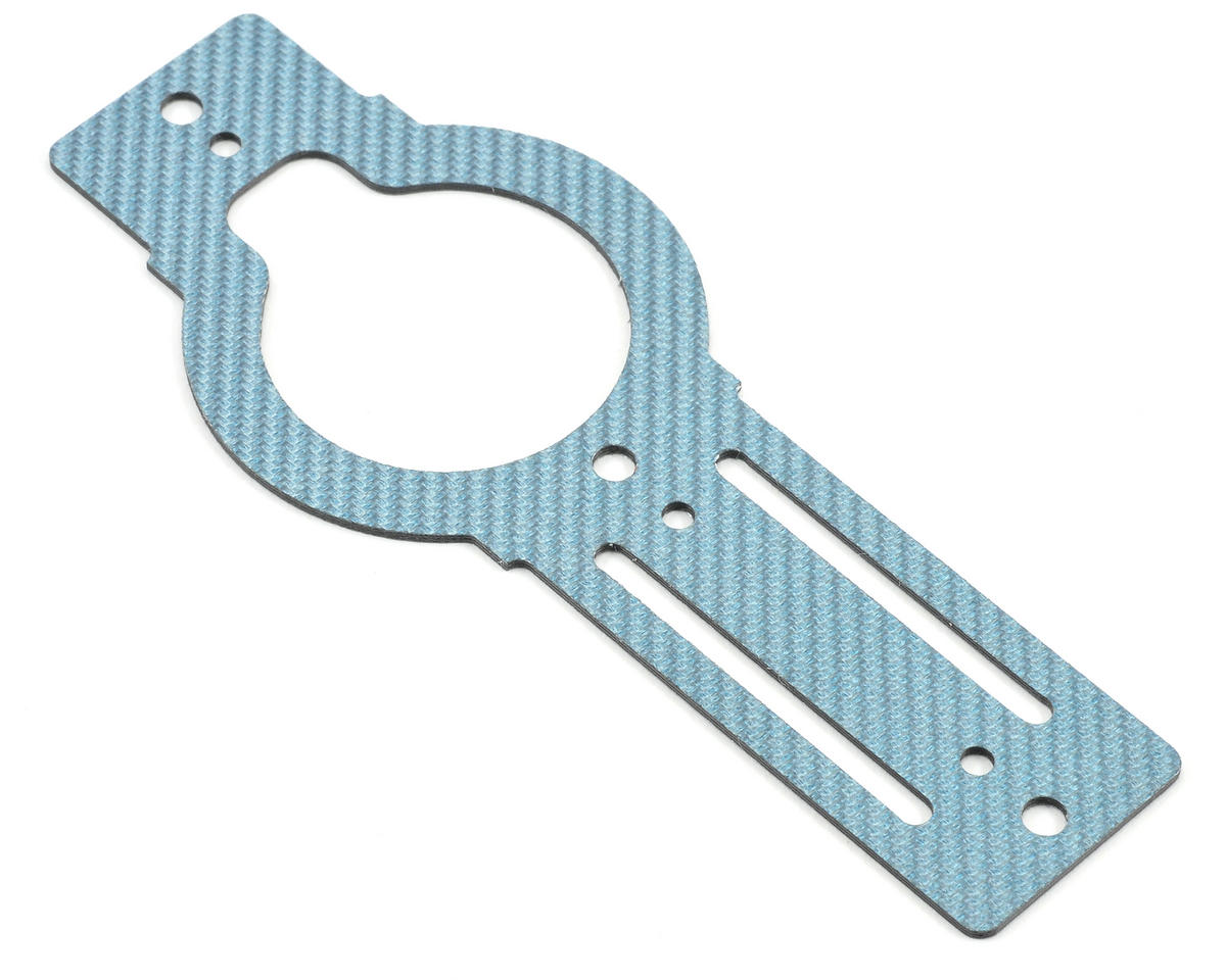 Xtreme Racing Heli Carbon Fiber Bottom Plate (Blue)