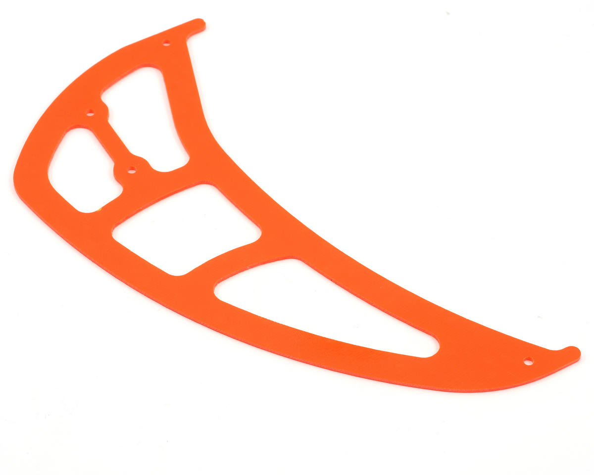 "Xtreme Racing ""High Visibility"" G-10 Tail Rotor Fin (Orange)"