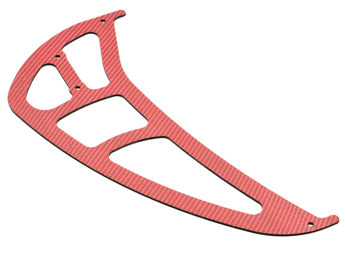 Xtreme Racing Heli Align T-Rex 700 Carbon Fiber Tail Rotor Fin (Red)
