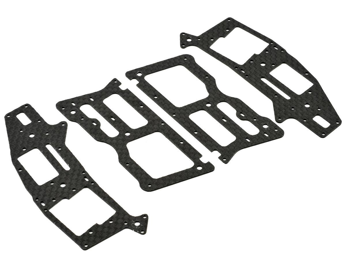 Xtreme Racing Heli Align T-Rex 250 Carbon Fiber Frame Set (4)