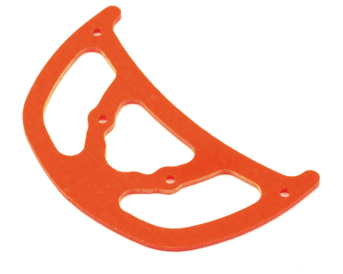 Xtreme Racing Heli Align T-Rex 550 High Visibility G-10 Boom Fin (Orange)
