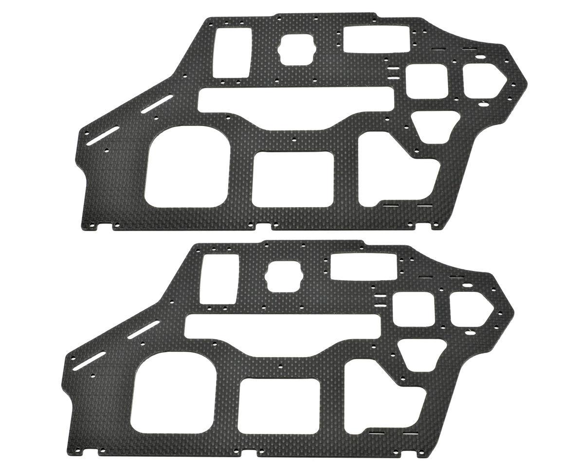 Xtreme Racing Heli 2mm Align T-Rex 550 Carbon Fiber Frame Set (2)