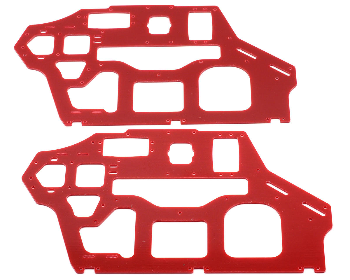 Xtreme Racing Heli Align T-Rex 550 2mm G-10 Frame Set (Red) (2)