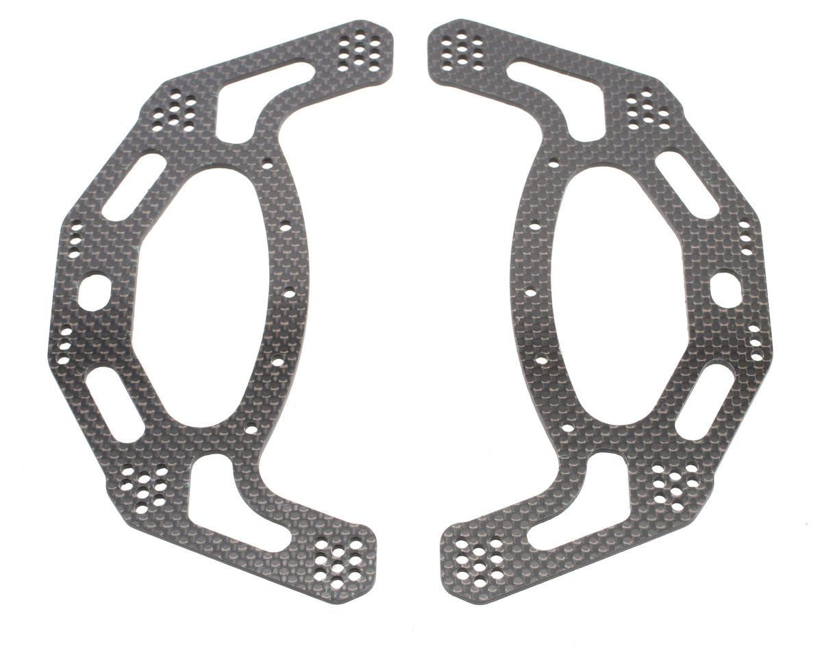 Xtreme Racing Axial AX10 Scorpion Carbon Fiber Side Plates (2)