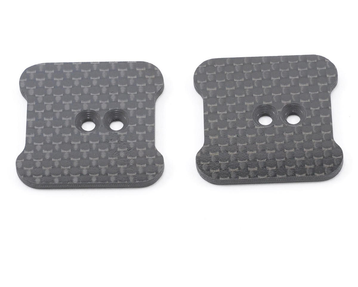 Xtreme Racing Axial AX10 Scorpion Carbon Fiber Axle Battery Mounts (2)