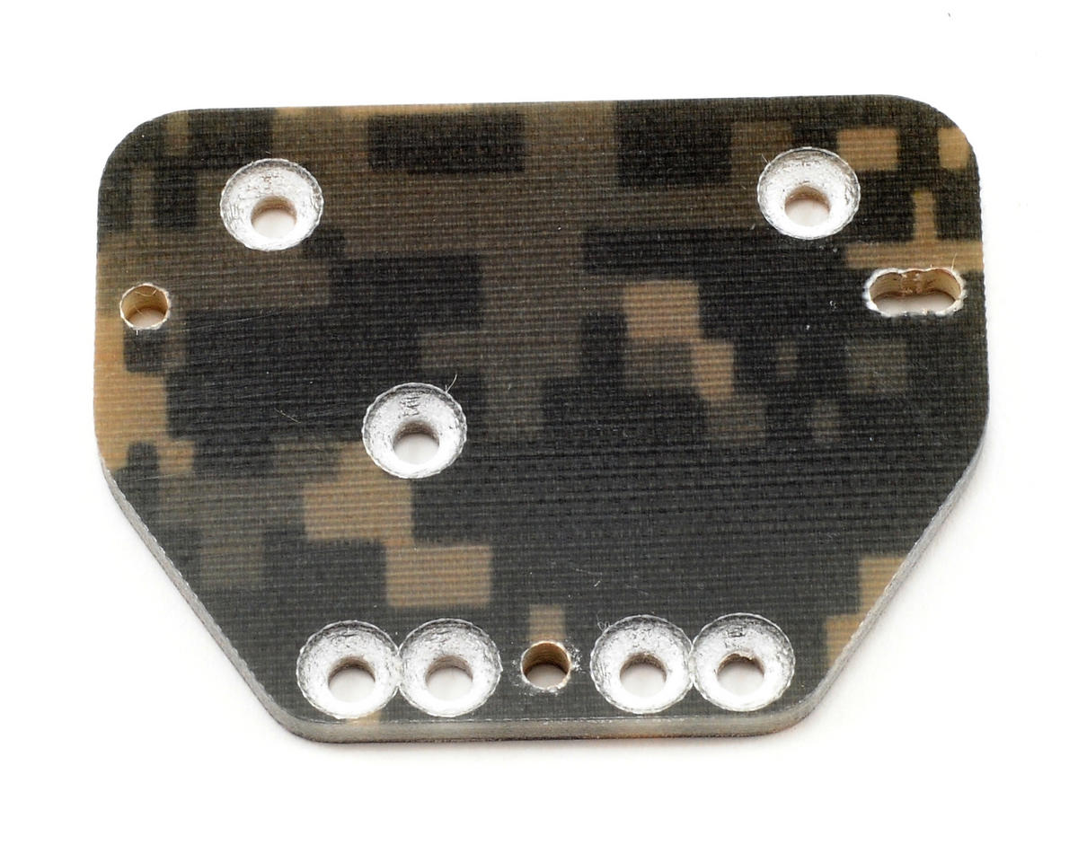 Xtreme Racing Axial AX10 Scorpion Carbon Fiber Servo Plate (Digital Camo)