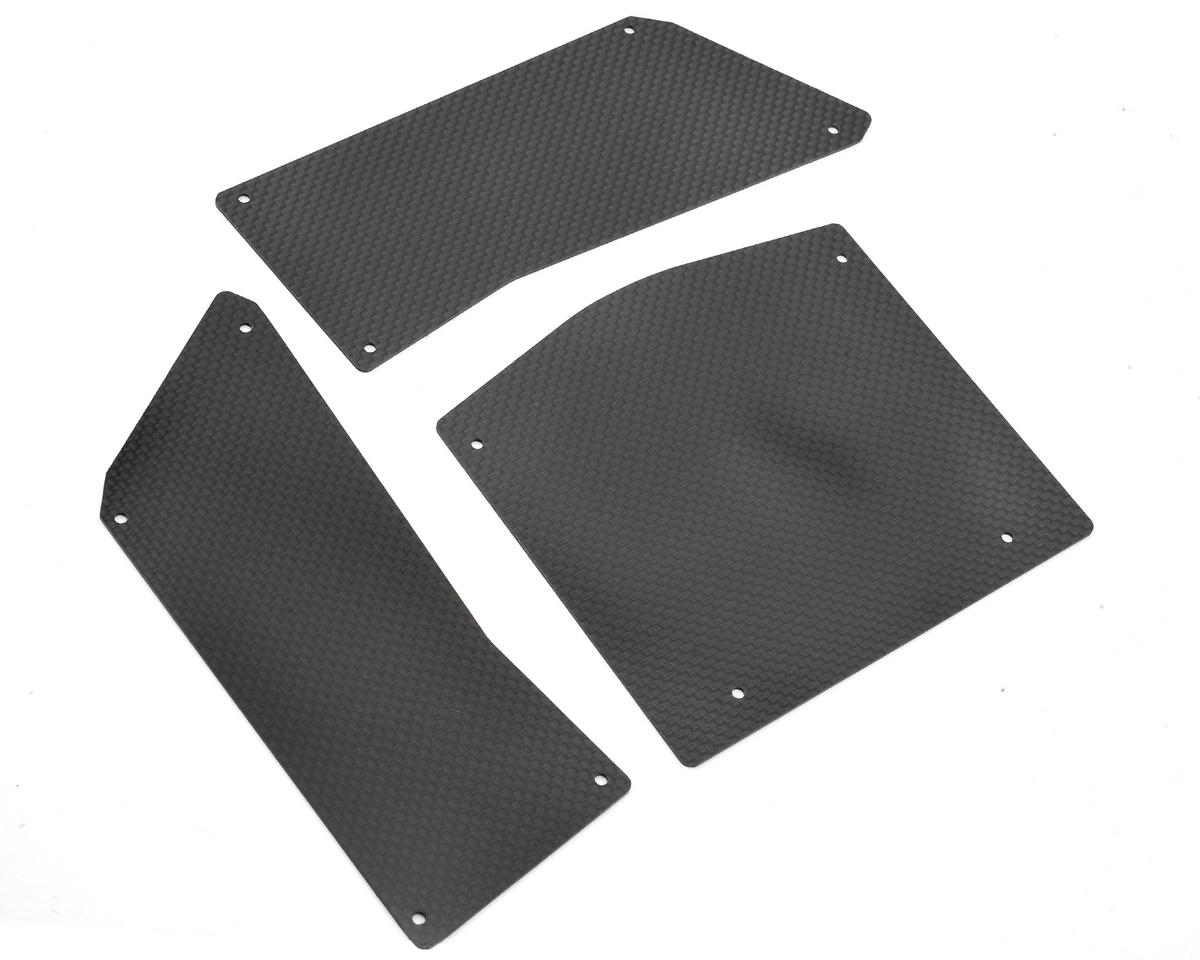 Xtreme Racing Axial RR10 Bomber Carbon Fiber Panel Kit (3)
