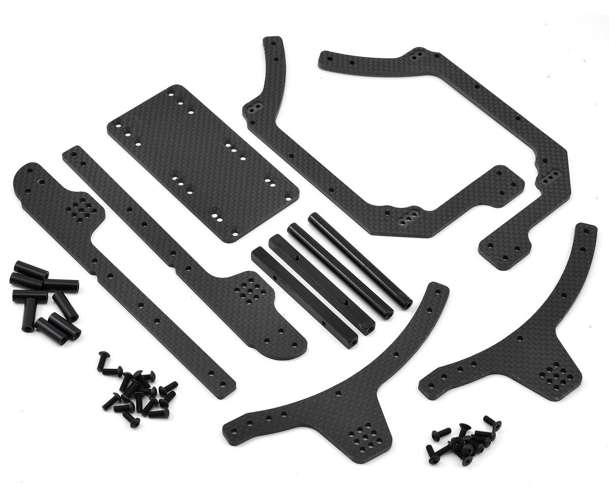 Axial RR10 Bomber 3mm Carbon Fiber Frame Rail Kit