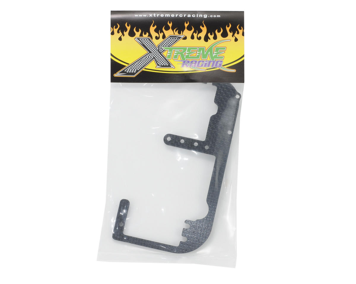 Xtreme Racing Hot Bodies D8 Carbon Fiber Servo Tray