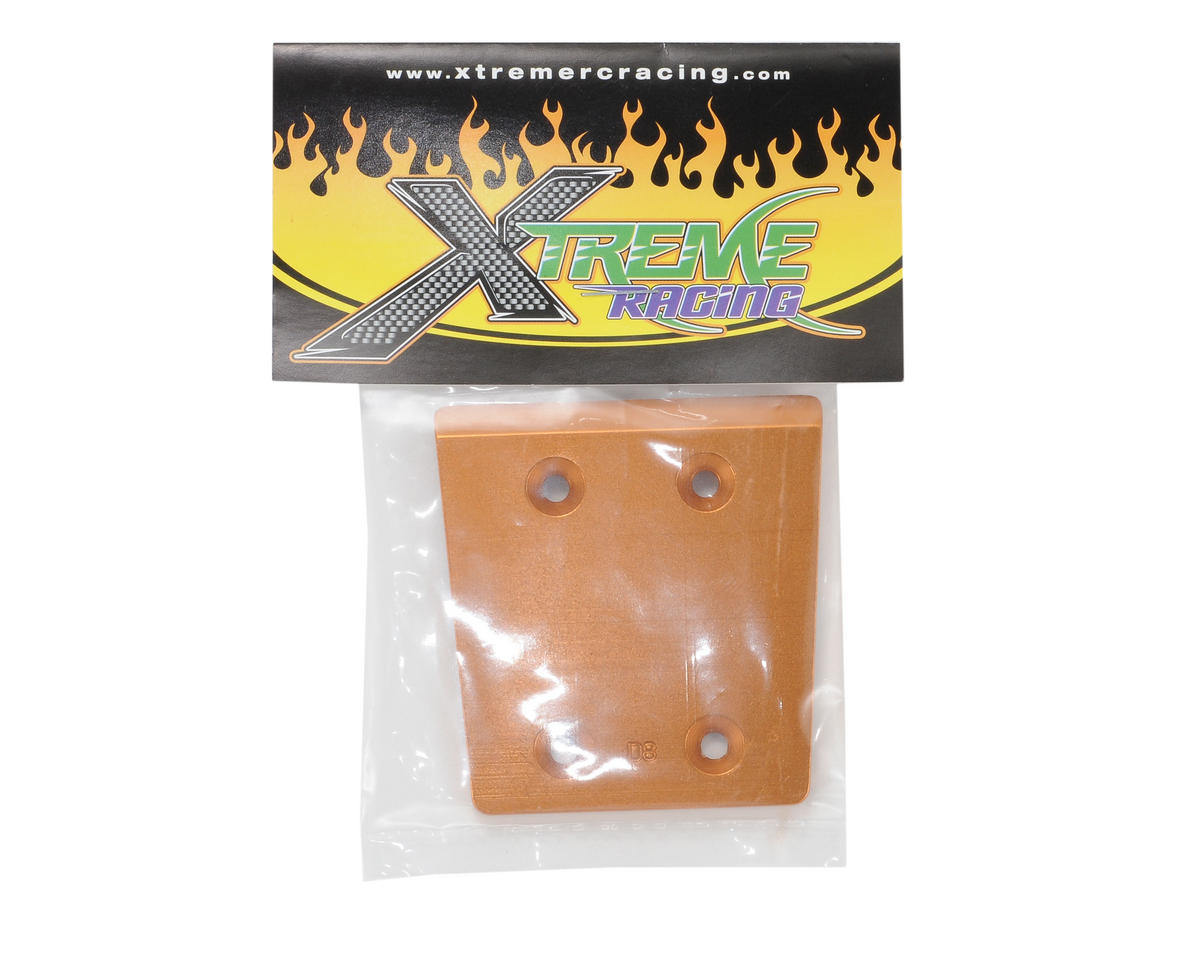 Xtreme Racing Hot Bodies D8 Aluminum Wear Guard