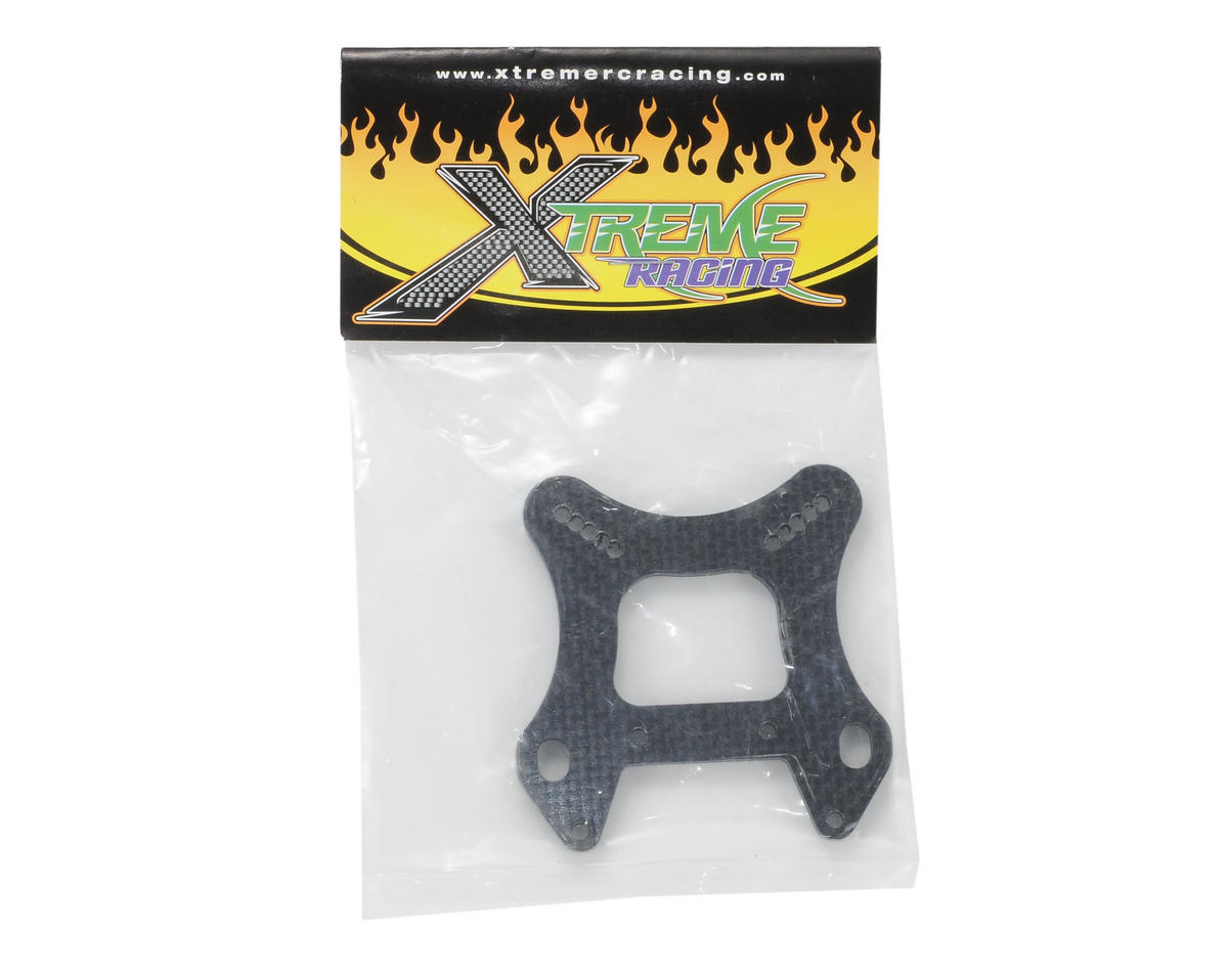 Xtreme Racing Mugen MBX6 Carbon Fiber Front Shock Tower