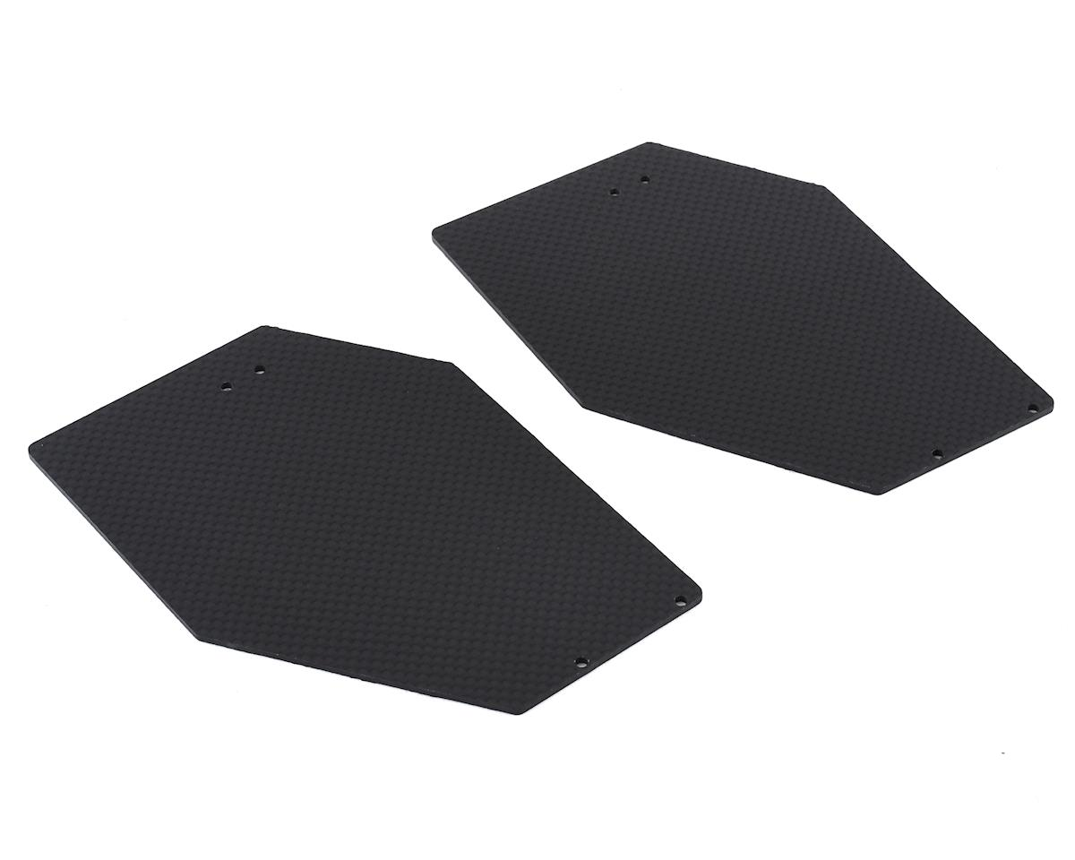 Xtreme Racing Arrma Limitless 2.0mm Carbon Fiber Wing End Plates (2)
