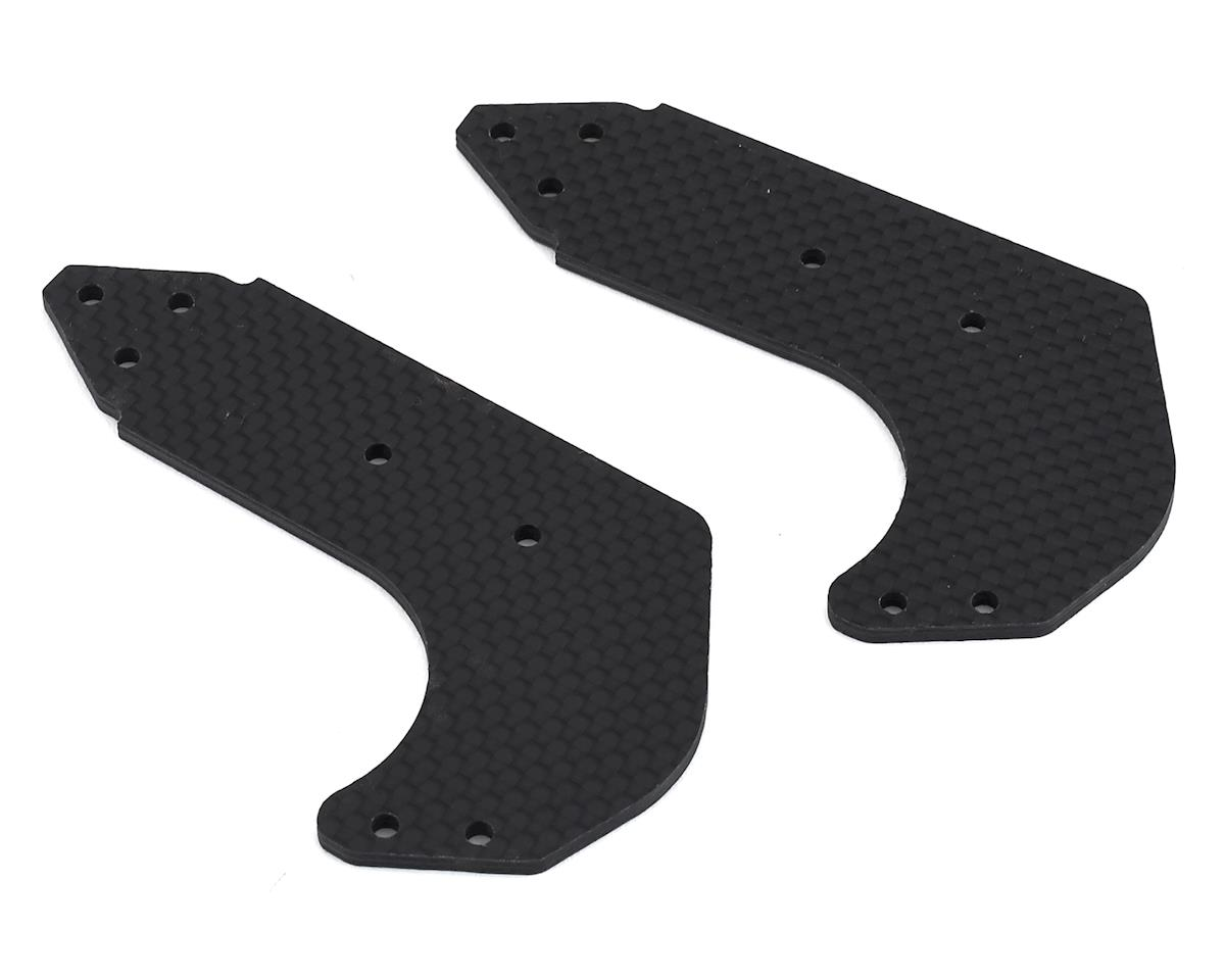 Xtreme Racing Arrma Limitless 2.5mm Carbon Fiber Wing Mount Plates (2)