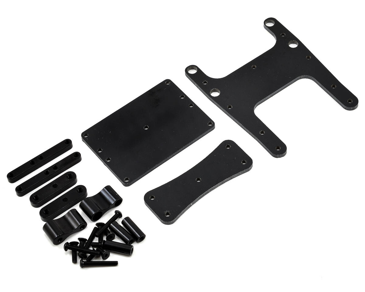 Xtreme Racing ECX Boost G-10 Frame Extension (Black)