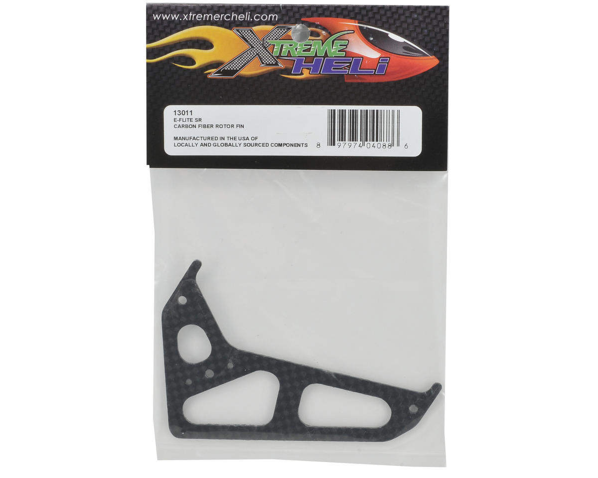 Xtreme Racing Carbon Fiber Rotor Fin (Black)