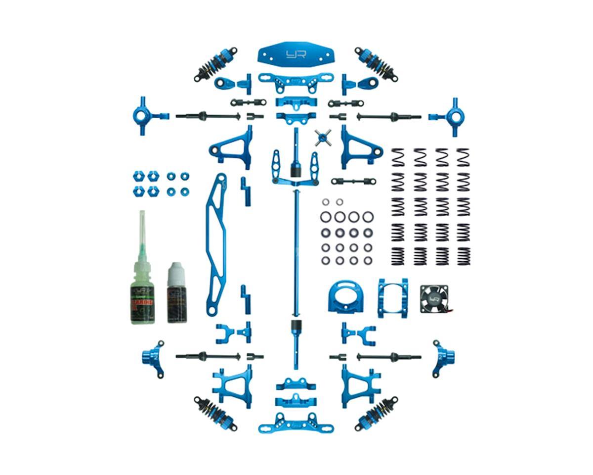 Tamiya TT-02 Aluminum Upgrade Kit (Blue)