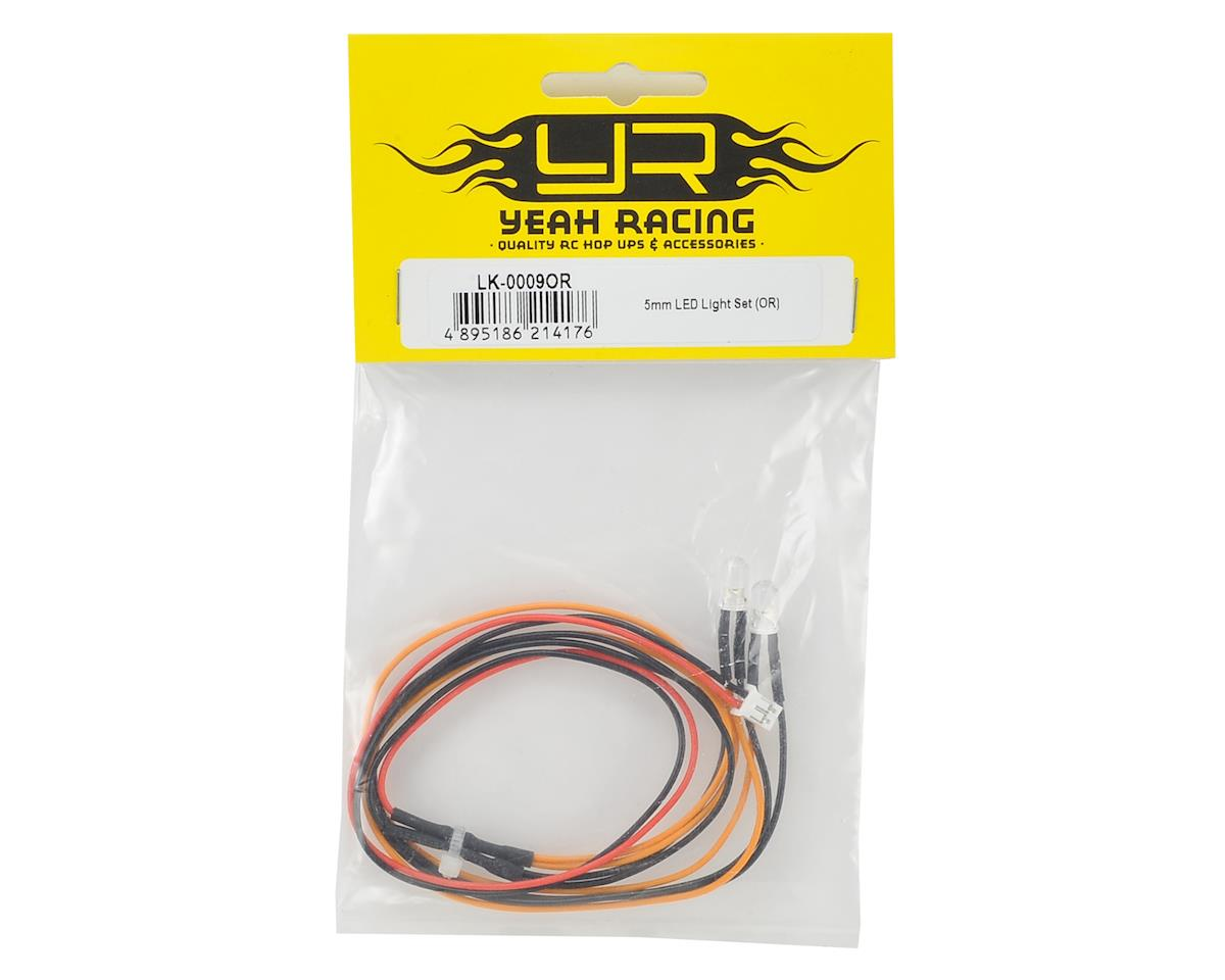 Yeah Racing 5mm LED Light Set (Orange)