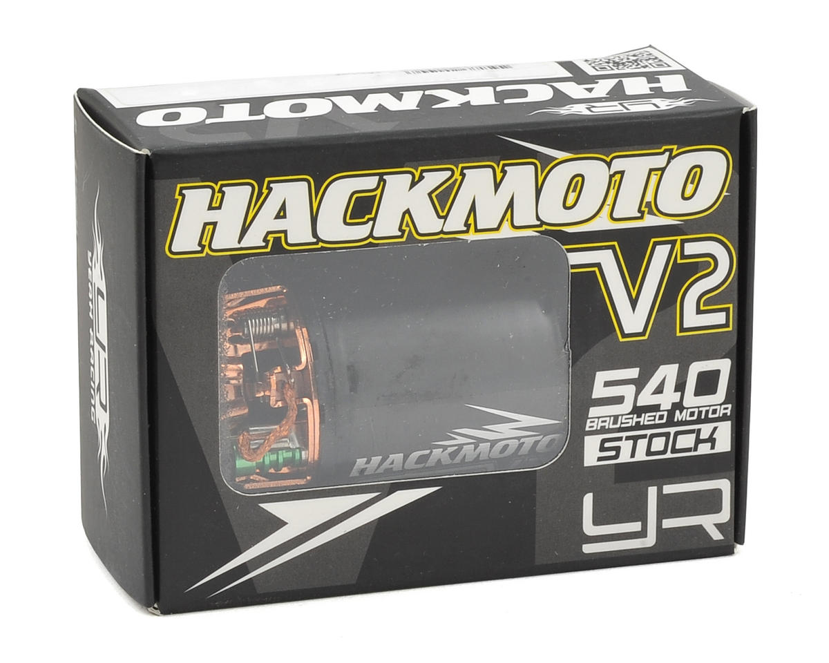 Image 3 for Yeah Racing Hackmoto V2 540 Brushed Motor (35T)