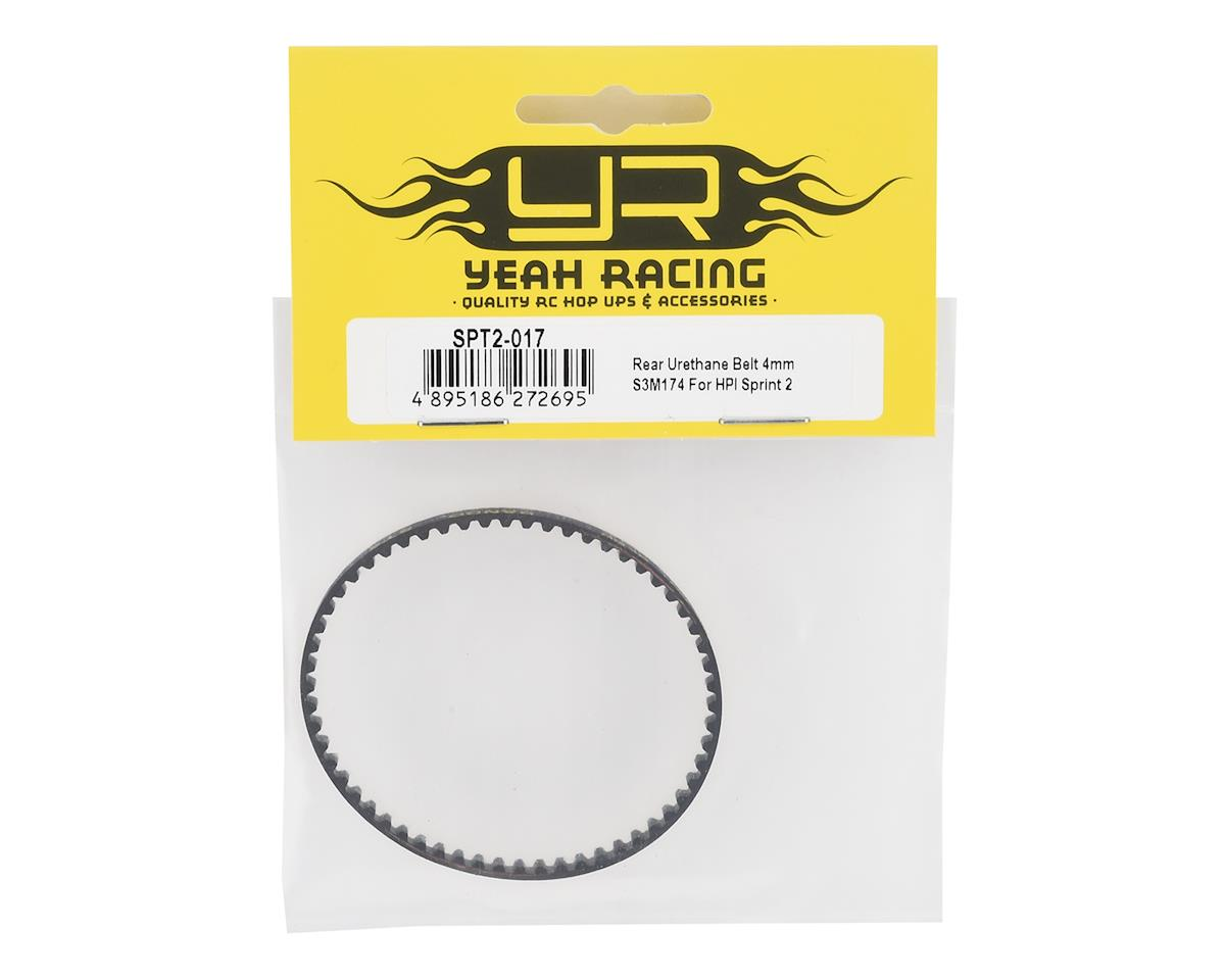 Yeah Racing HPI Sprint 2 4mm S3M174 Rear Urethane Belt