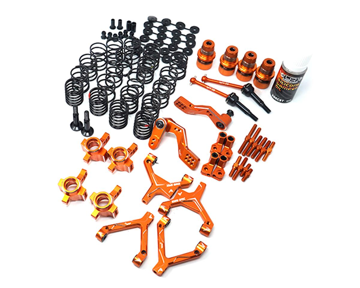 Yeah Racing HPI Sprint 2 RWD Drift Conversion Kit (Orange)