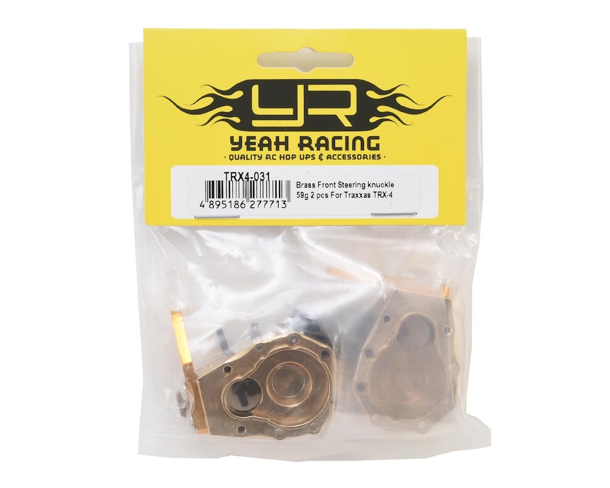 Yeah Racing Traxxas TRX-4 Brass Front Steering Knuckle (2)