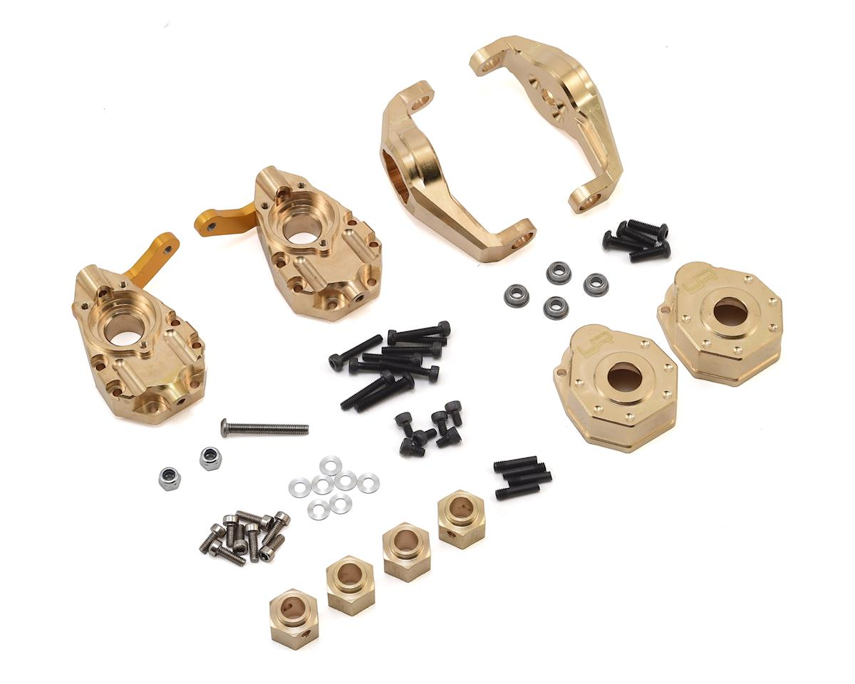 Yeah Racing Traxxas TRX-4 Brass Upgrade Parts Set