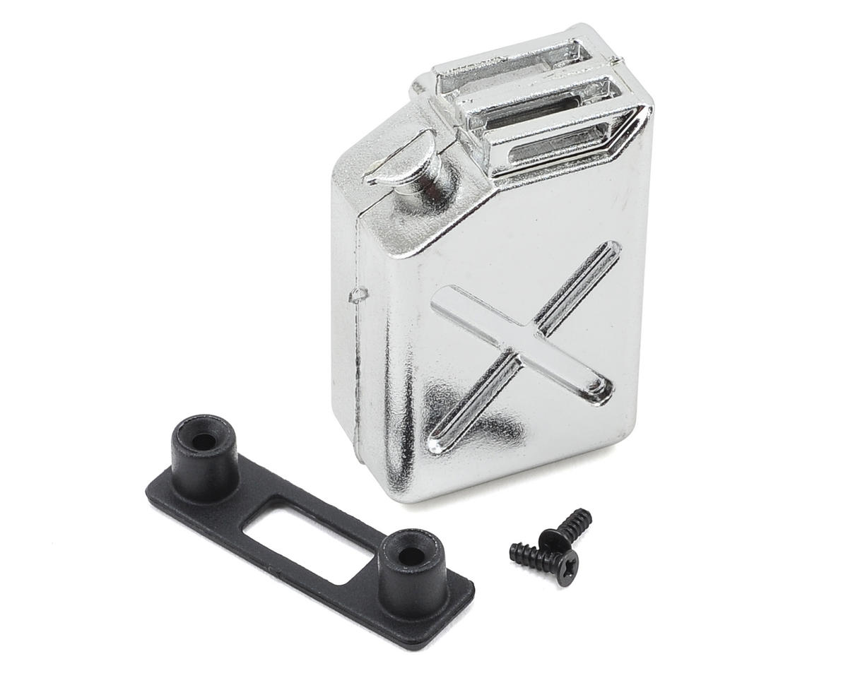 "1/10 Crawler Scale ""Jerry Can"" Accessory (Fuel Can) (Chrome) by Yeah Racing"