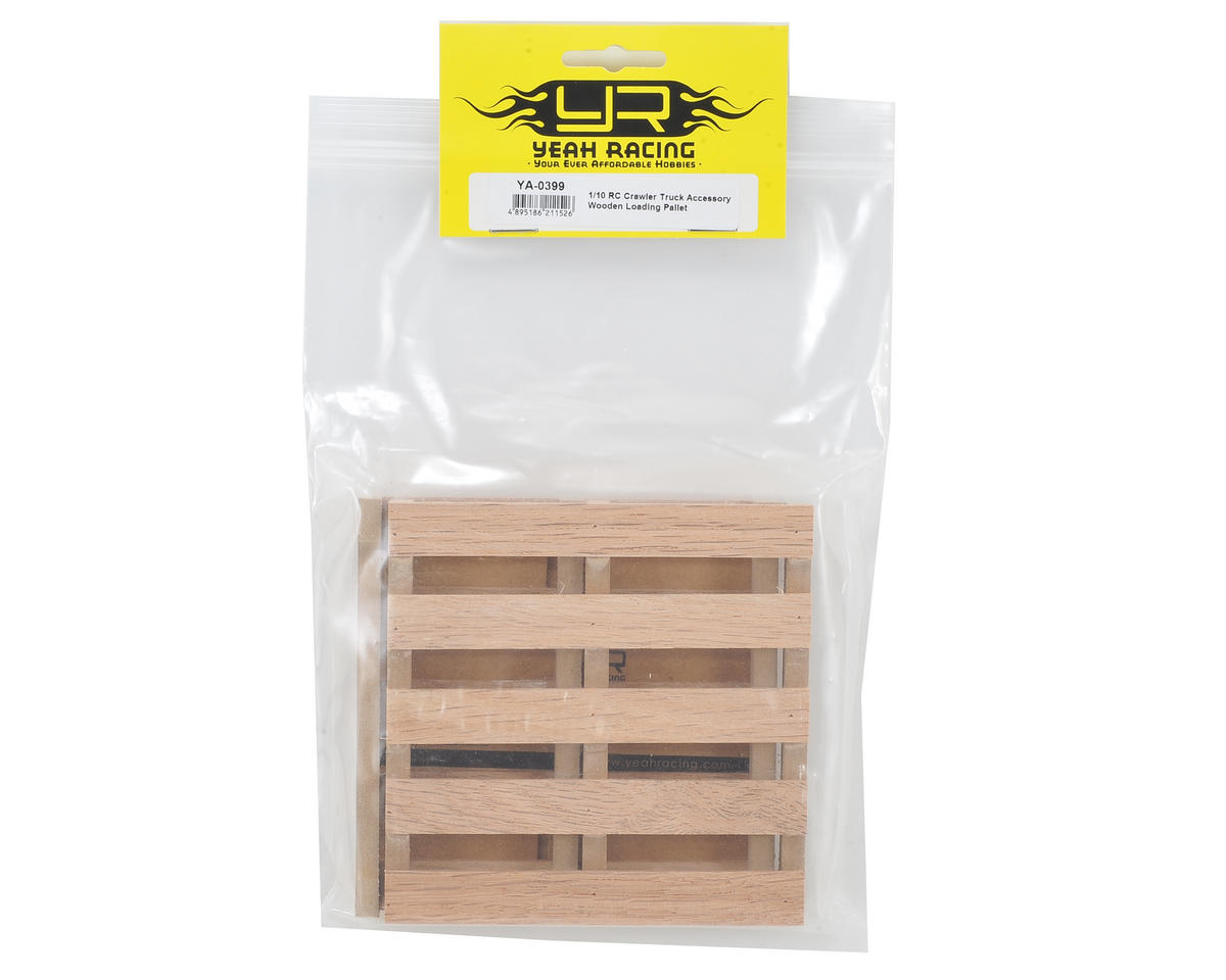 Yeah Racing 1//10 RC Crawler Moving Boxes /& Wooden Pallets YA-0399