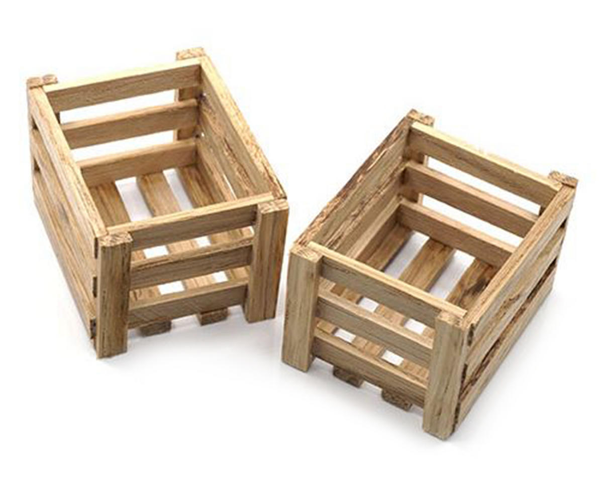 1/10 Crawler Scale Accessory Set (Wooden Crates) by Yeah Racing