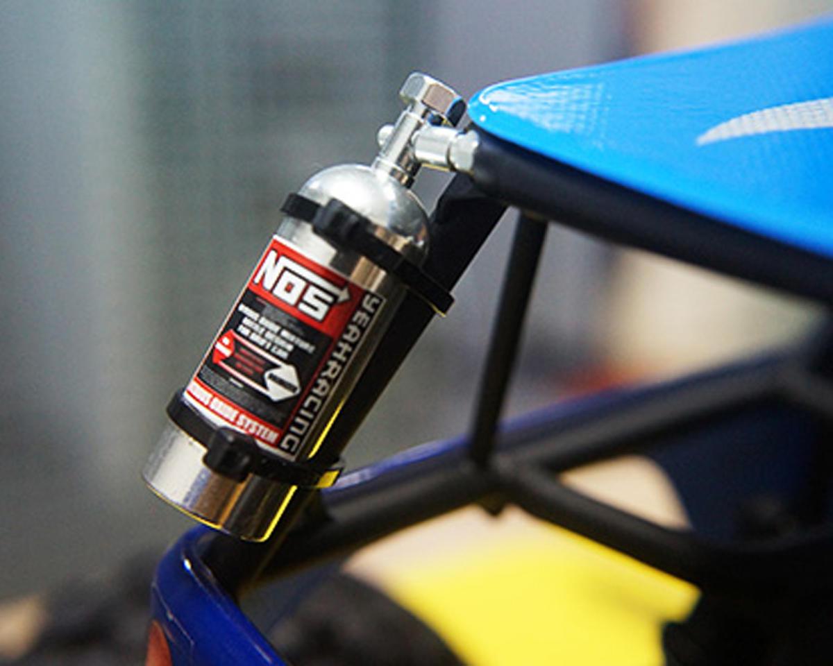 Yeah Racing Aluminum NOS Nitrous Bottle (Silver) (23g)