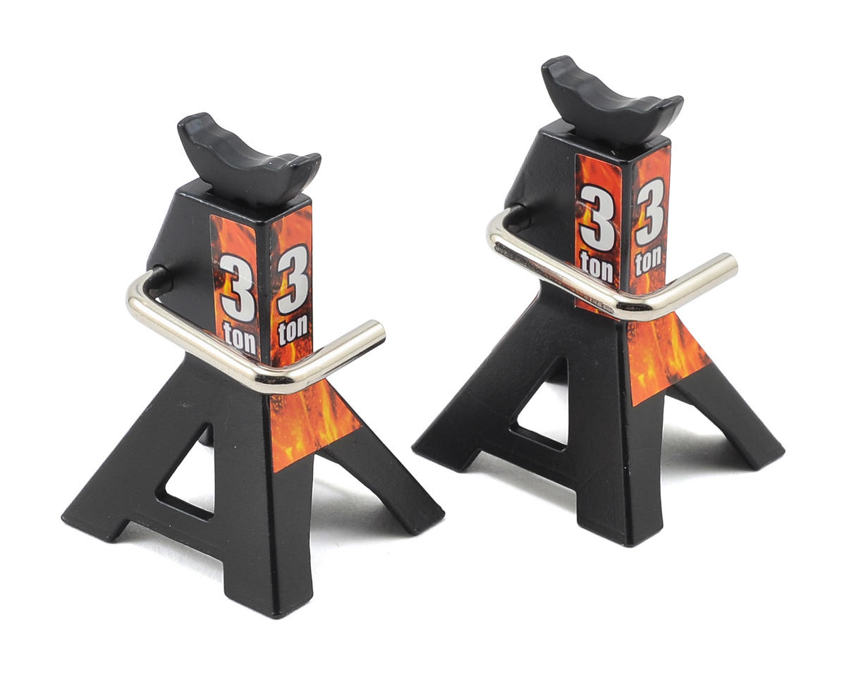Yeah Racing Height Adjustable 3 Ton Jack (Black) (2)
