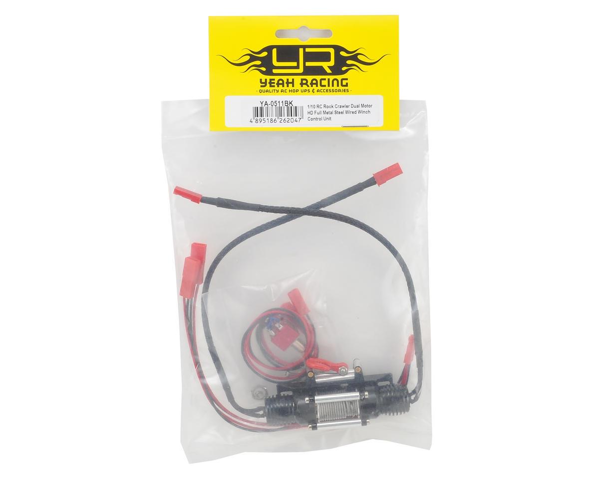 Yeah Racing 1/10 Scale Crawler Dual-Motor Full Metal HD Wired Winch