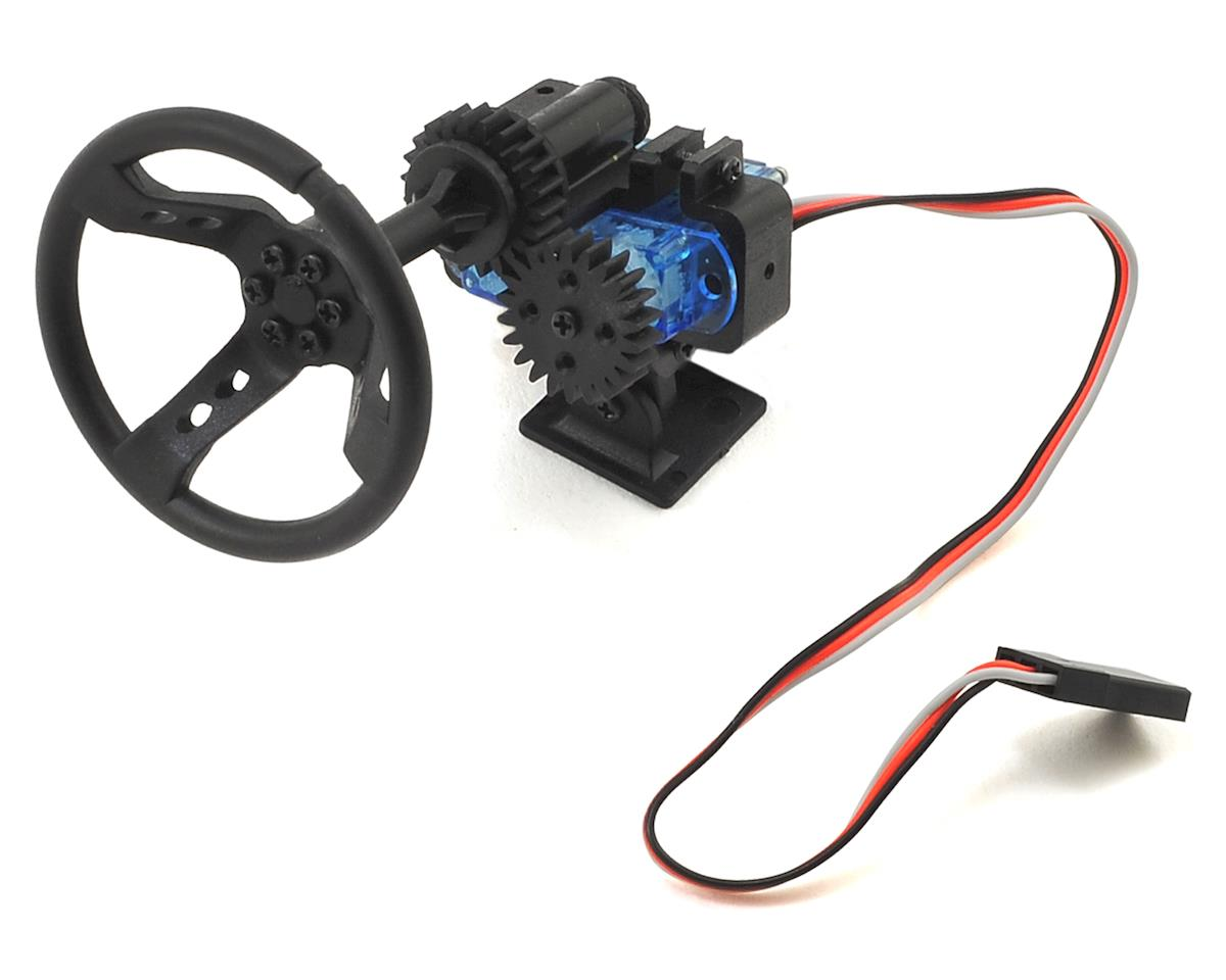 SCRATCH & DENT: Yeah Racing X DarkDragonWing Motion Steering Wheel (RC4WD Gelande II)