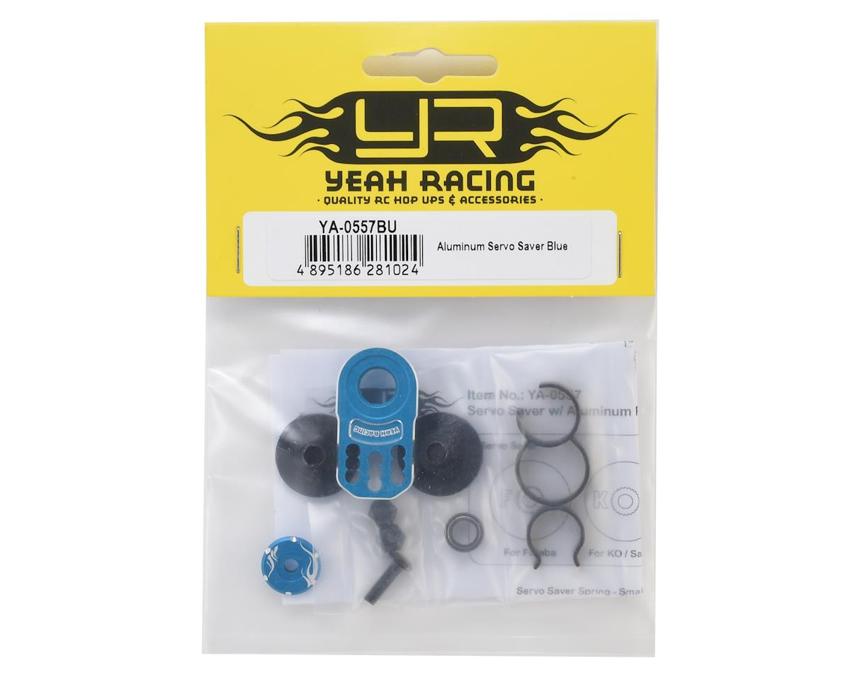 Yeah Racing Aluminum Servo Saver (Blue)