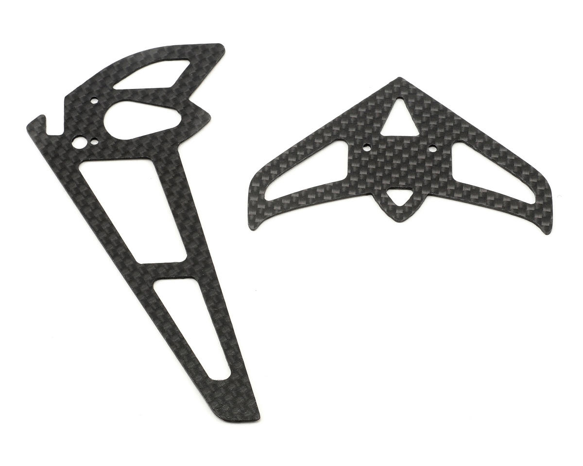 Curtis Youngblood Rave 450 Carbon Fiber Fin Set