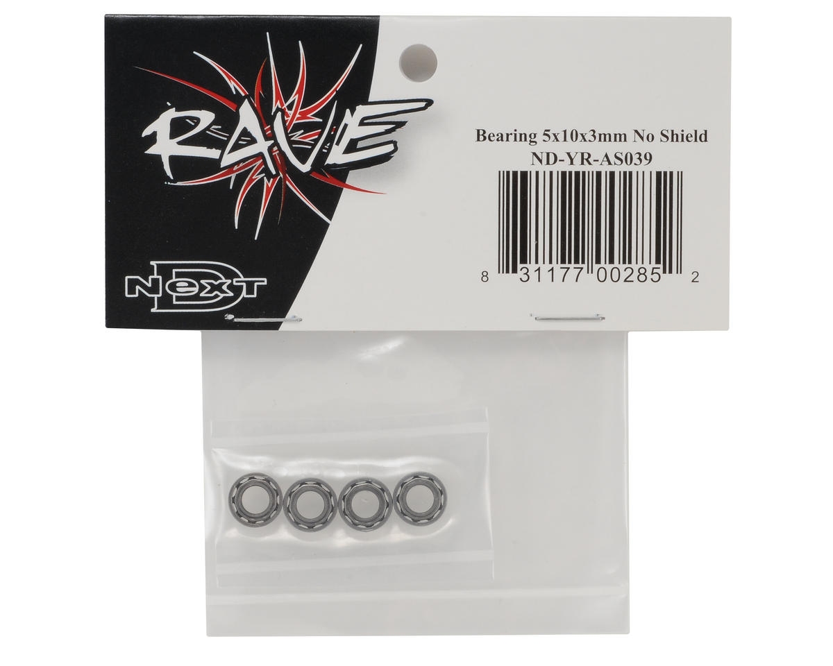 Curtis Youngblood 5x10x3mm Unshielded Bearing (4)