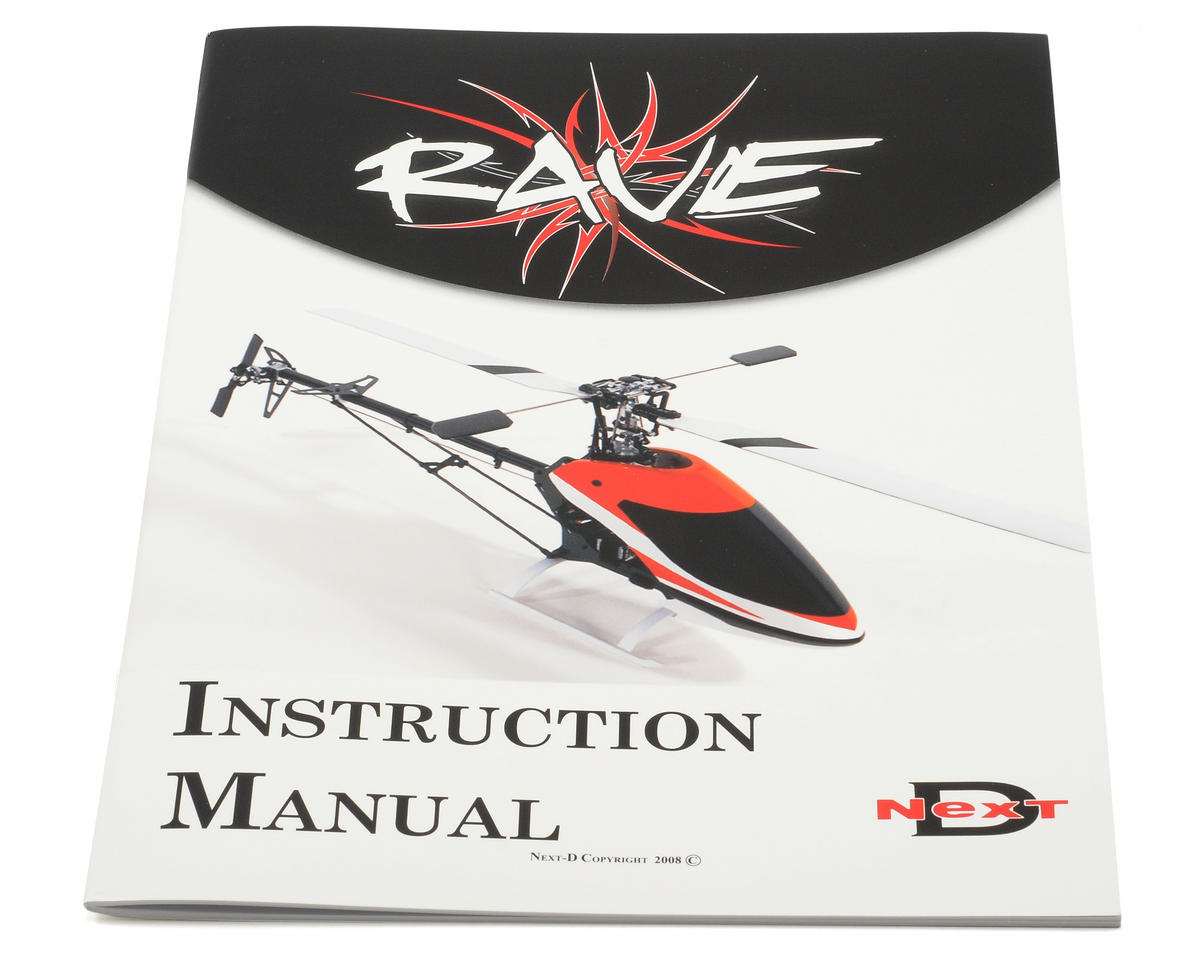 Curtis Youngblood Rave 450 Instruction Manual