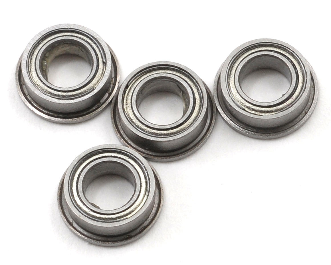 Curtis Youngblood 4x7x2.5mm Flanged Bearing Set (4)