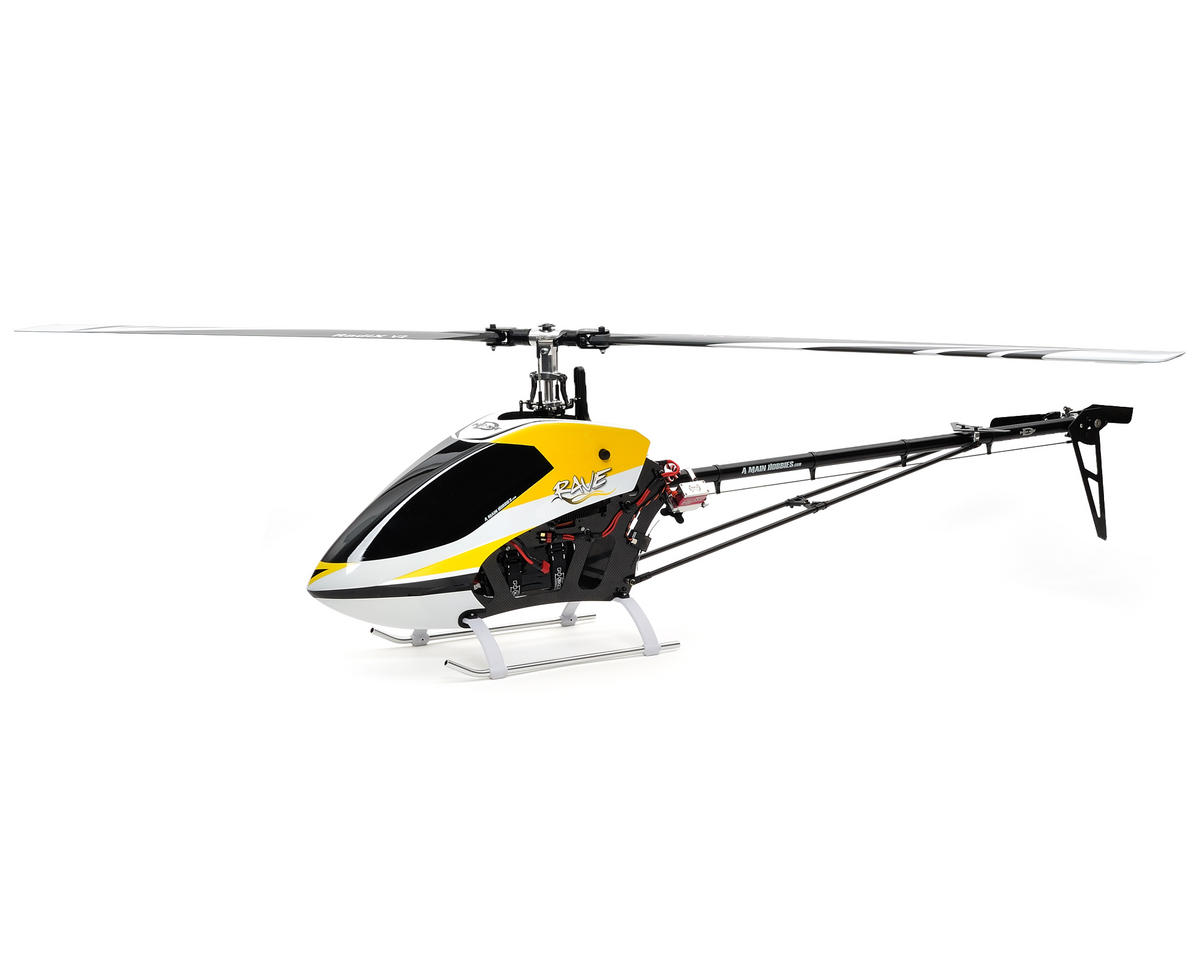 Curtis Youngblood Rave Ballistic FSO Electric Helicopter Kit w/Steel Gears