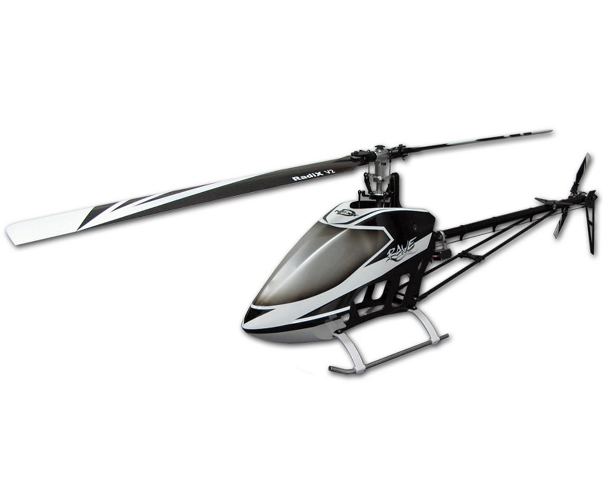 "Curtis Youngblood Rave Ballistic ""Black Series"" Helicopter Combo w/Steel Gears, Motor & Blades"