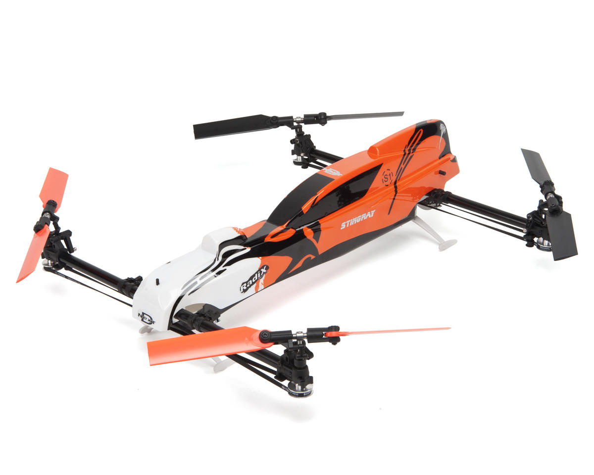 Curtis Youngblood Stingray 500 Quadcopter Drone Combo w/TG-Multi, ESC, Servos & Motor