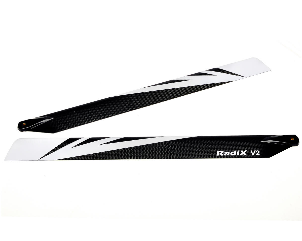 Curtis Youngblood V2 554mm Radix Flybarless Main Rotor Blades